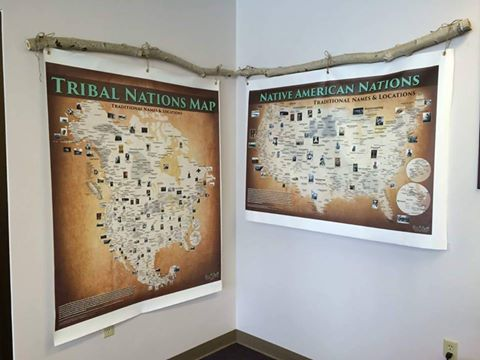 Fundraiser By Aaron Carapella Accurate Tribal Map In Every School - Aarons store map us