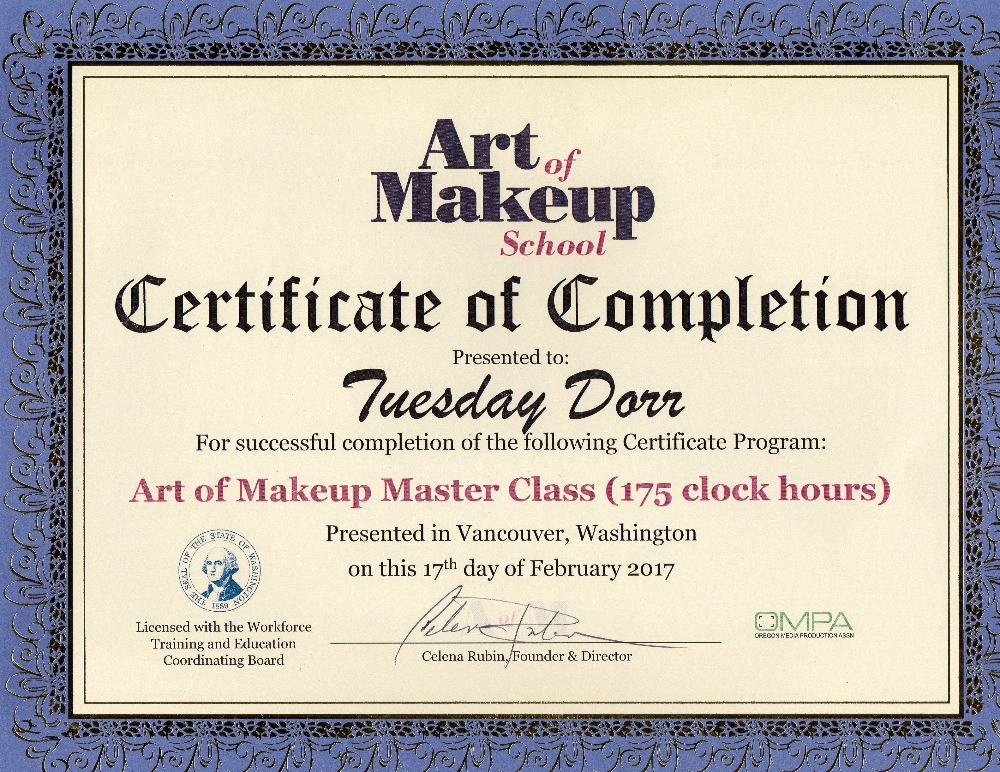 Fundraiser By Tuesday Marie Makeup Artistry School