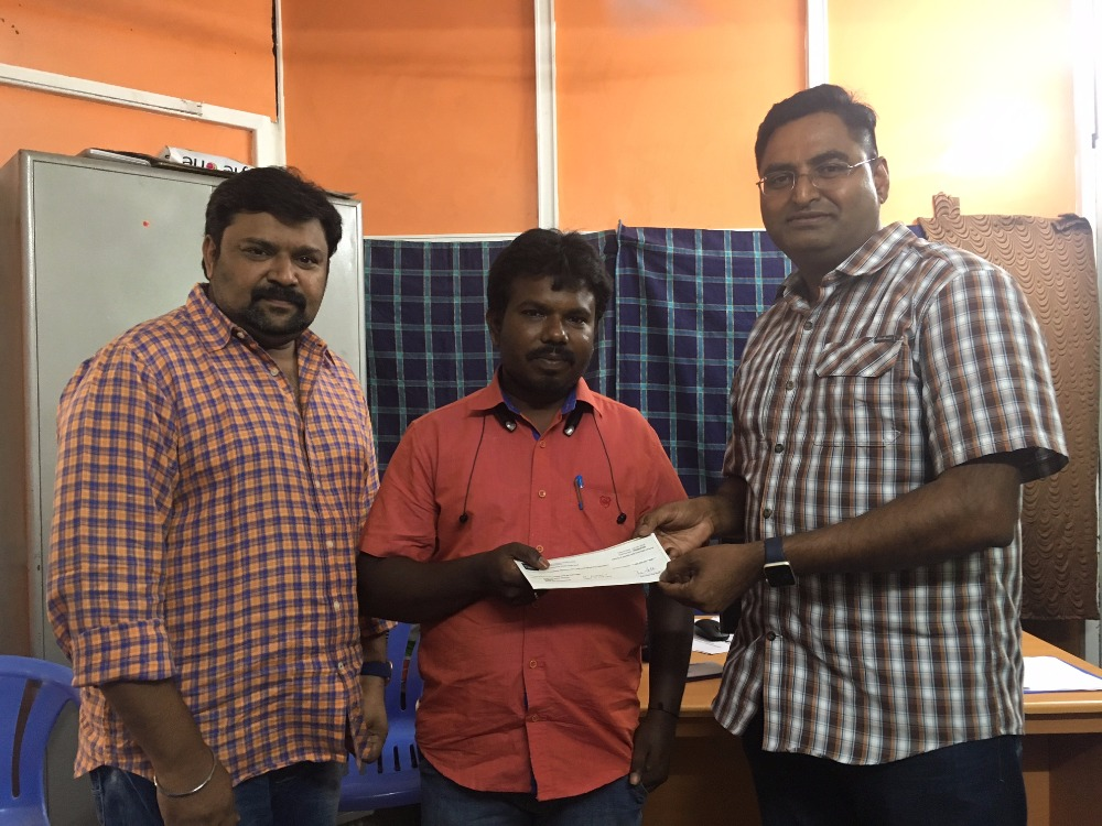 Fundraiser by Jayakumar Ramu : Help Sangavi and Saranya College