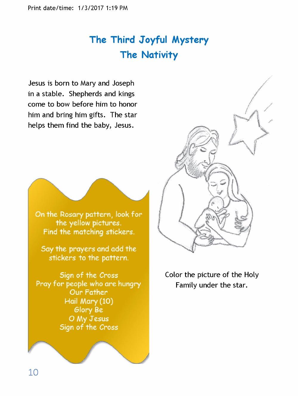 fundraiser by bernadette harmon learn the rosary for children