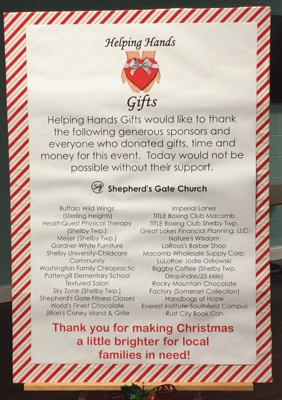 Fundraiser by Lara Shovlin : Helping Hands Gifts helps families