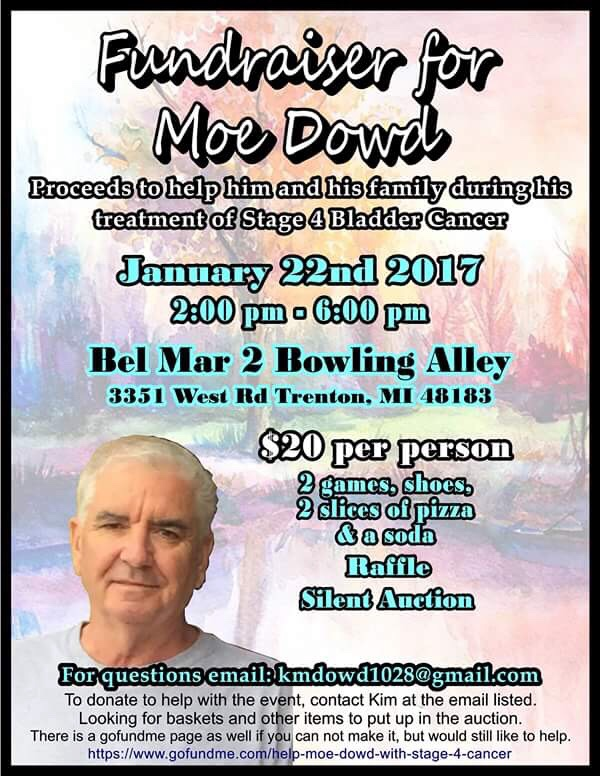 Fundraiser by Kimberley Kramer Dowd : Help Moe Dowd with