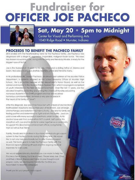 Fundraiser for Joe Pachecho by Kim Peirick : Joe's Biggest Race