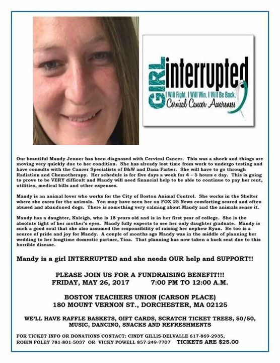 Fundraiser for Mandy Jenner by Chris Stockbridge : We Love Mandy Jenner