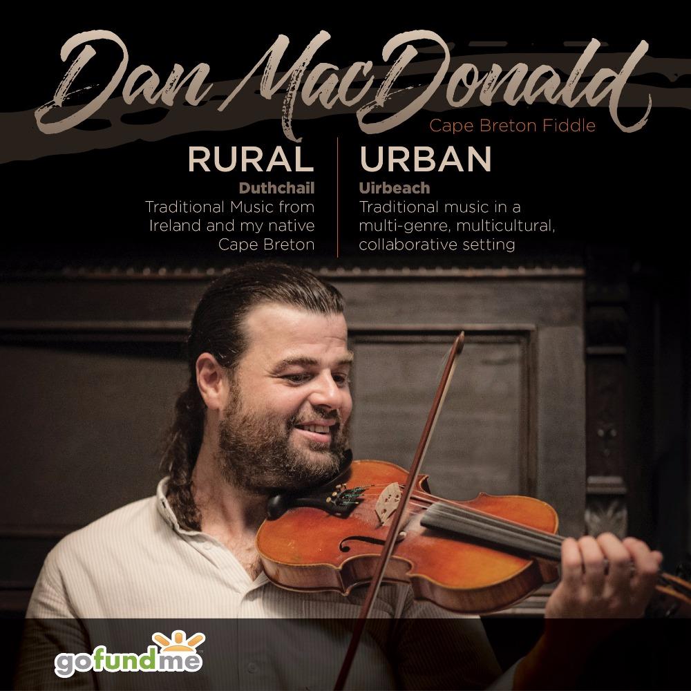 Fundraiser by Dan MacDonald : Dan MacDonald's solo fiddle record