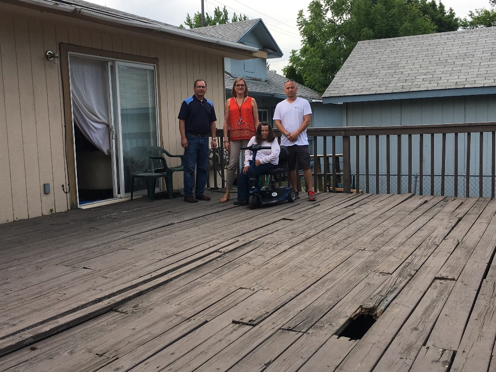 fundraisercece byorth padon : jude's accessibility remodel