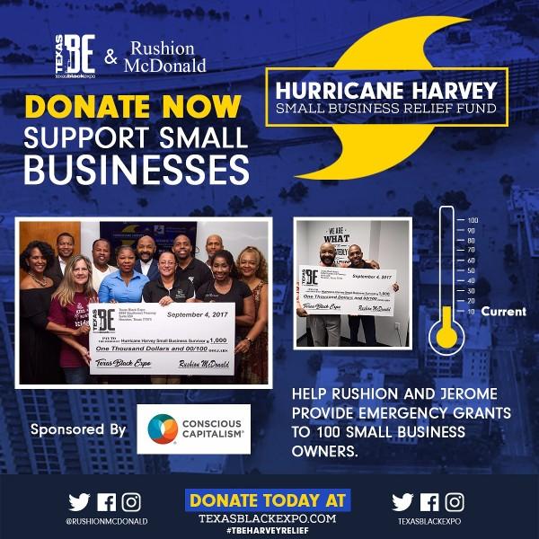 Fundraiser by Jerome Love : Hurricane Harvey Entrepreneurs Fund