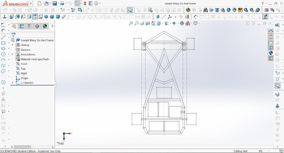 Go Kart Chassis Design Solidworks - Archivosweb.com