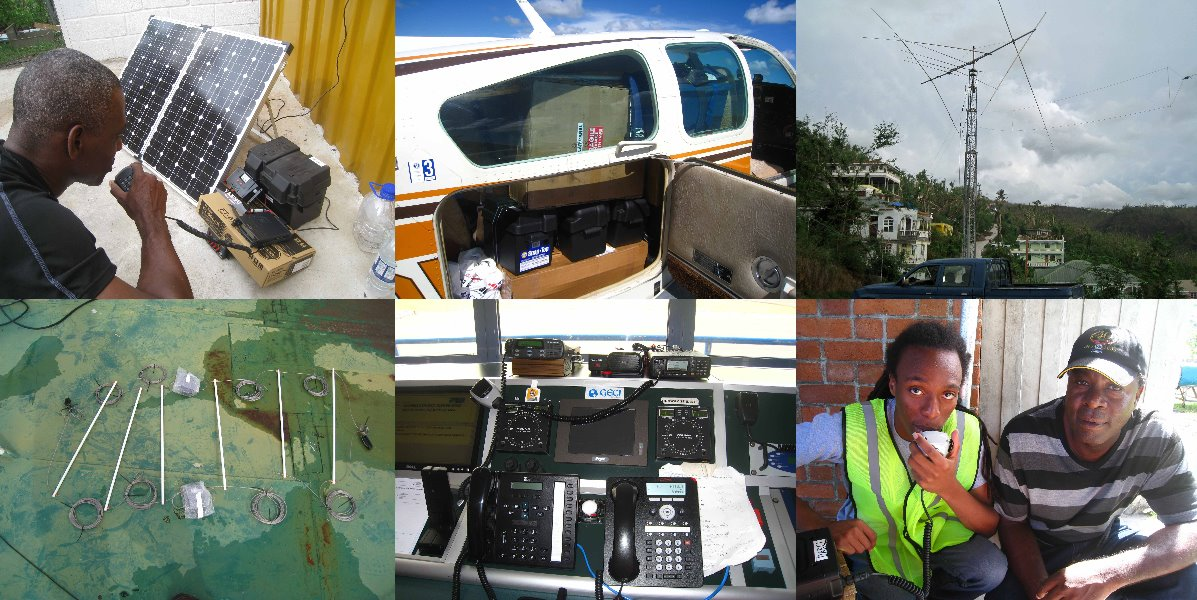 Dominica Ham Radio Airlift