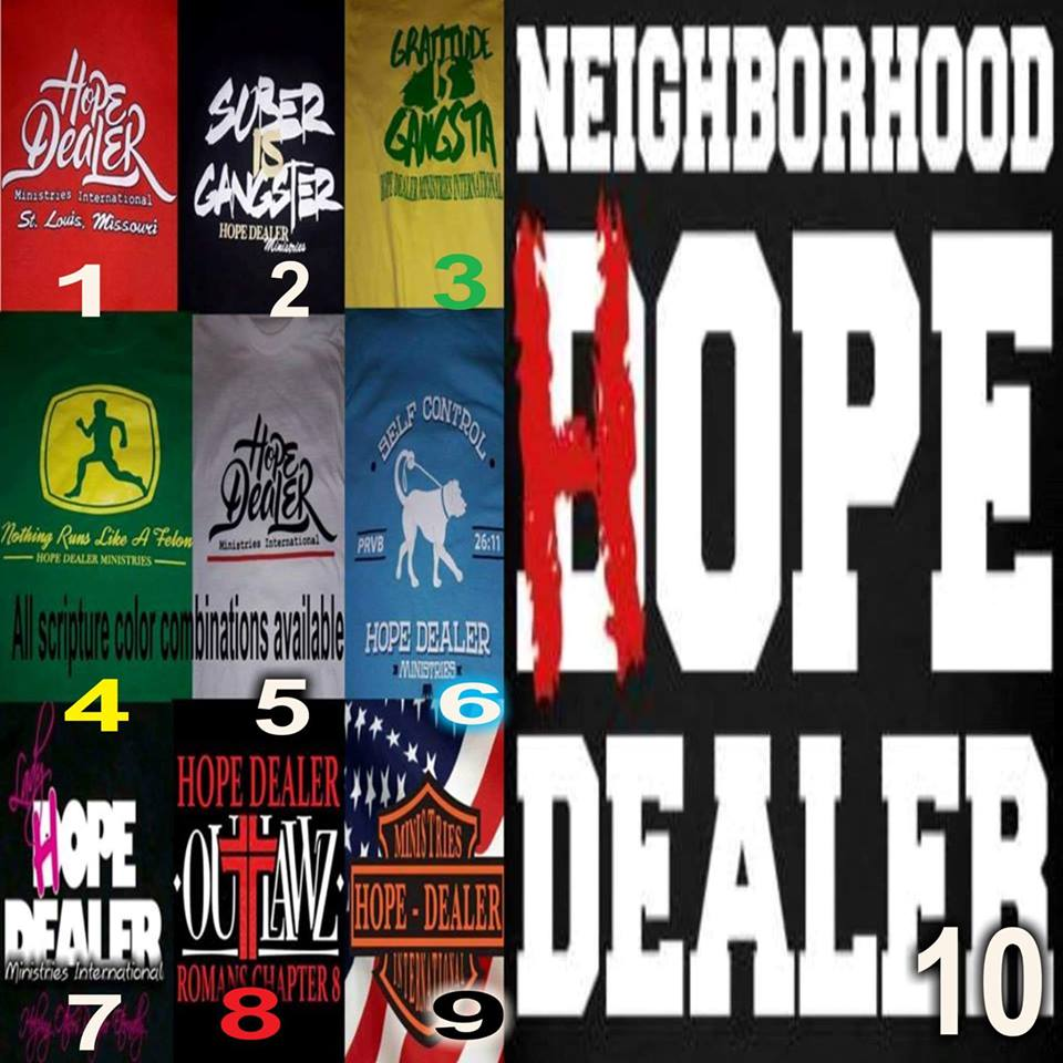 Fundraiser By Marcus Haynes Hope Dealer Shirt Reserve Isaiah 55